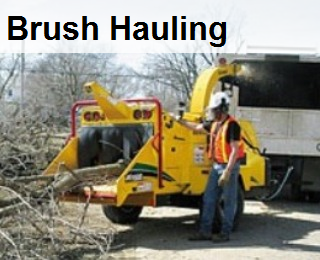 chip brush, haul brush, brush hauling ,brush chipper, wood chipper