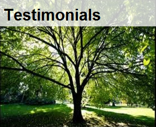 tree work, testimonials,referrals,